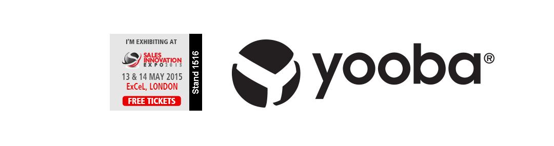 Yooba möter säljutmaningar på Sales Innovation Expo 2015