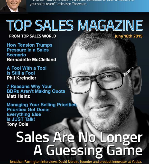 Top Sales Magazine: Hur modern (sälj)teknik främjar säljarens prestationer och organisationens resultat.